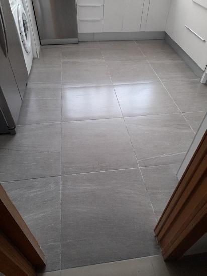 Cambio de suelo de cocina 1
