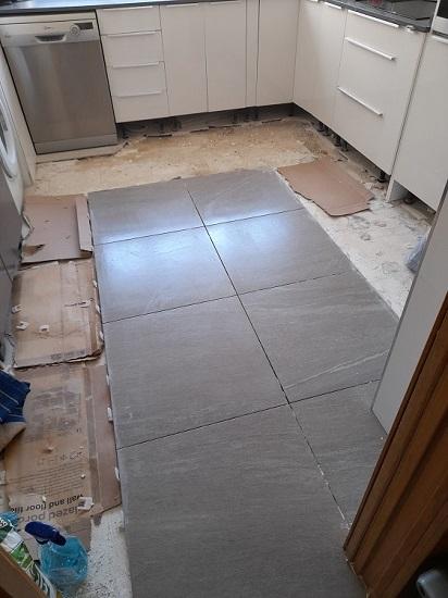 Como cambiar suelo de cocina